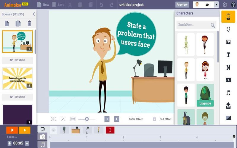 crear video animado animaker